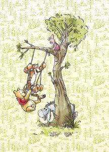 Winnie Pooh in the wood DX4-017