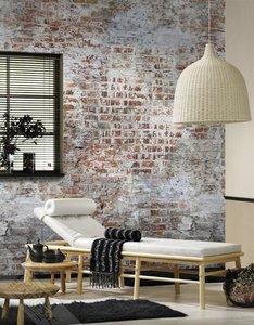 Bricks Wall Mural Non Woven 23890