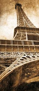 Eiffel Tower Paris City Urban Door Mural Photo Wallpaper 222VET