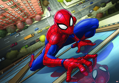 Spider Photo Wall Mural 10591P8